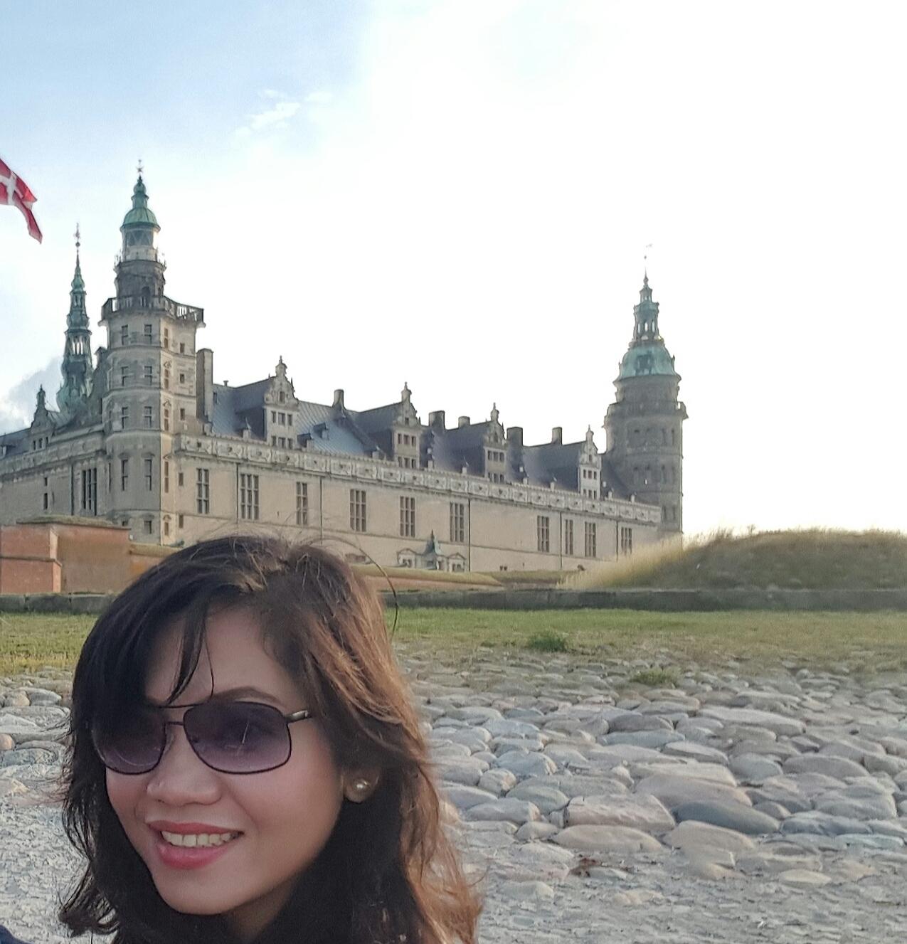 Walking around Kronborg Castle