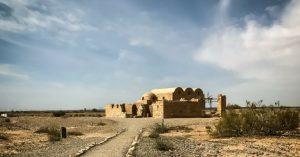 Visiting Quseir Amra