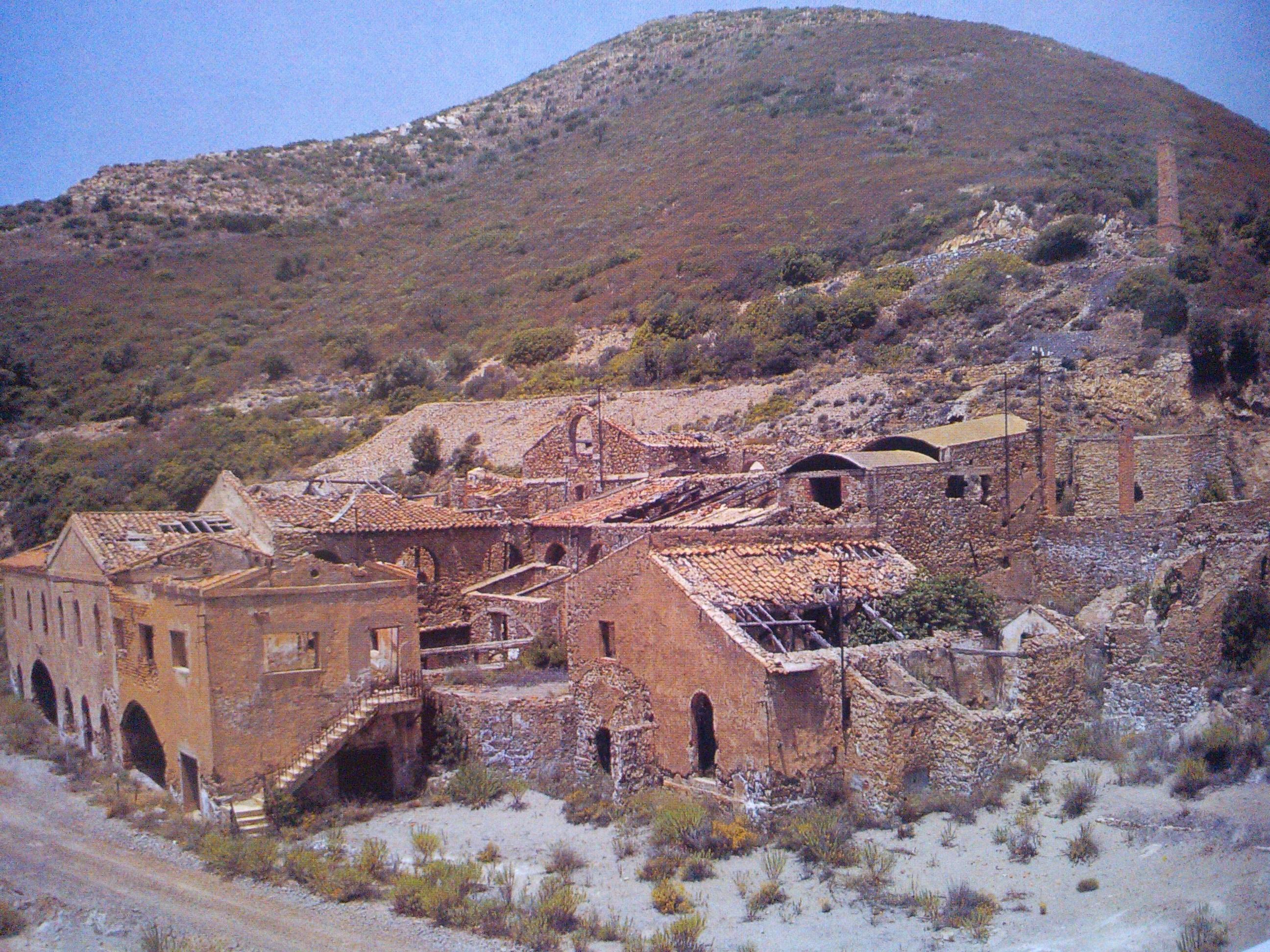 Il villaggio della Miniera di Seddas Moddizzis Foto realizzate da M.Oppes, S.Colombo 2