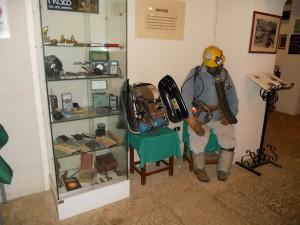 Iglesias, centro urbano: Museo dell' Arte Mineraria. Photos by author 1