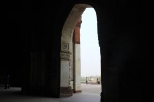 Purana Qila in Shadows