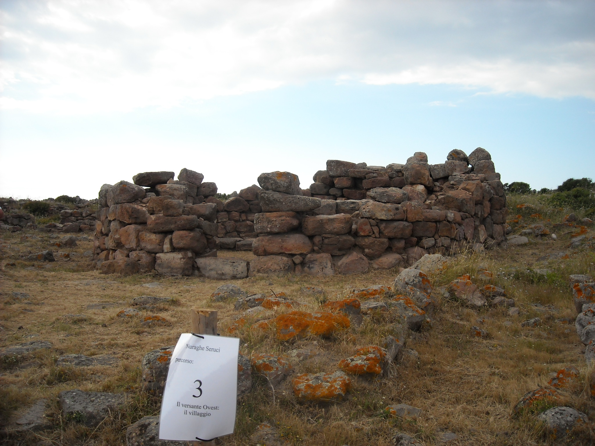 Complex of Seruci Nuragic Civilization