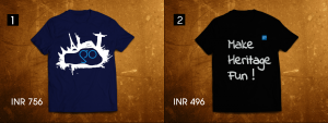 GoUNESCO and #makeheritagefun tshirts