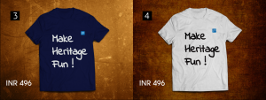 #makeheritagefun tshirts