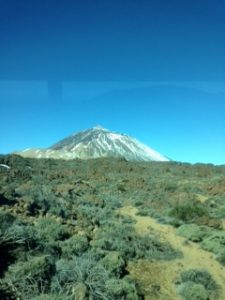 The beautiful Mt Teide