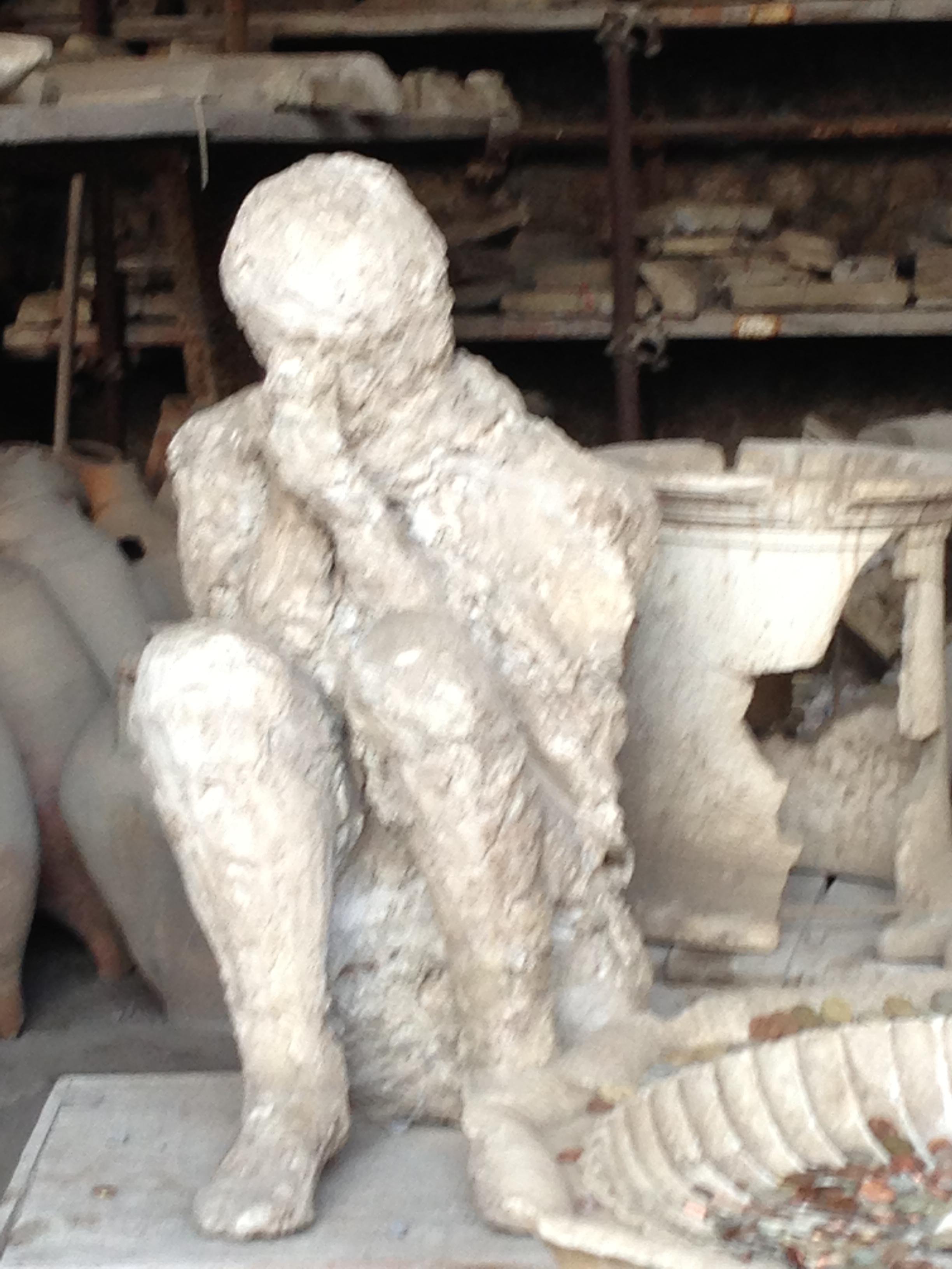Praying man Pompeii