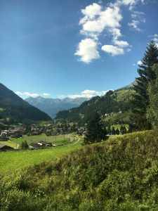 Catching the Bernina Express