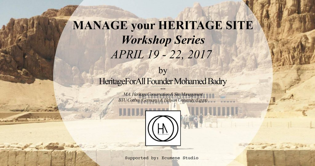 How to manage your heritage site - A workshop - Go UNESCO