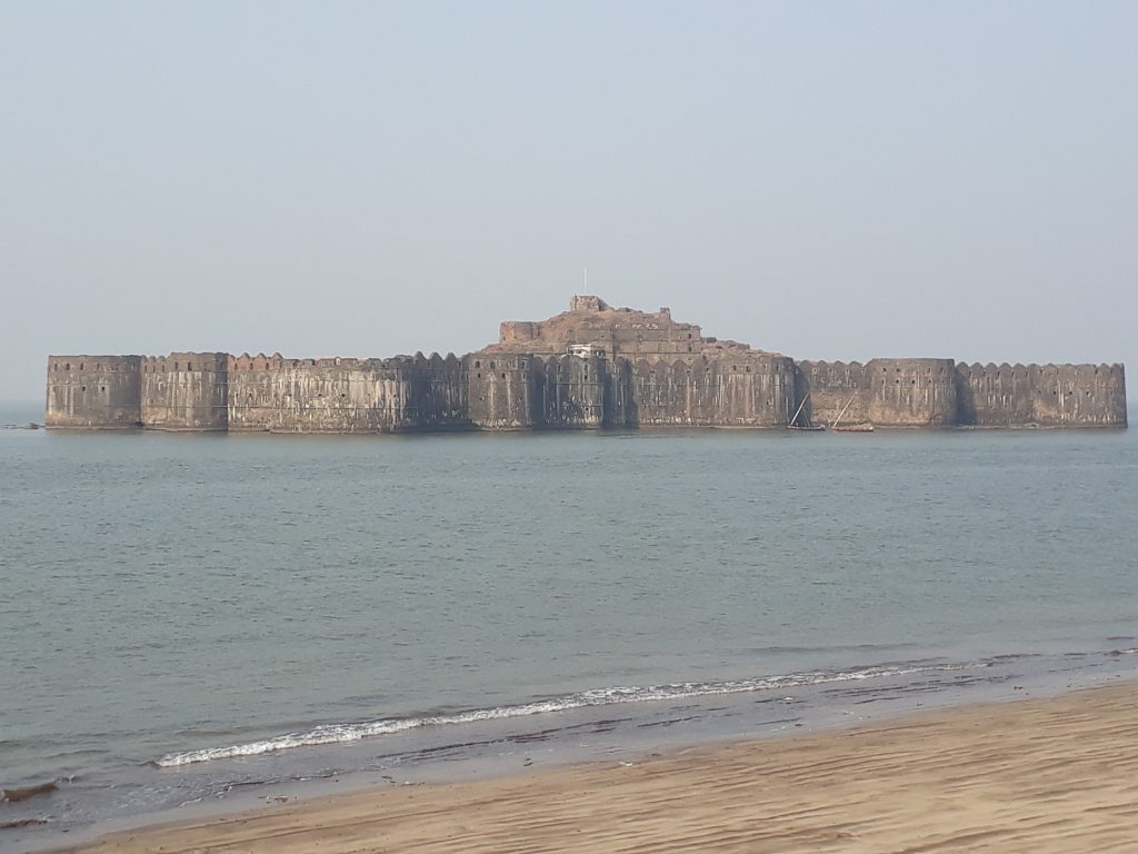 The fort at Murud-Janjira