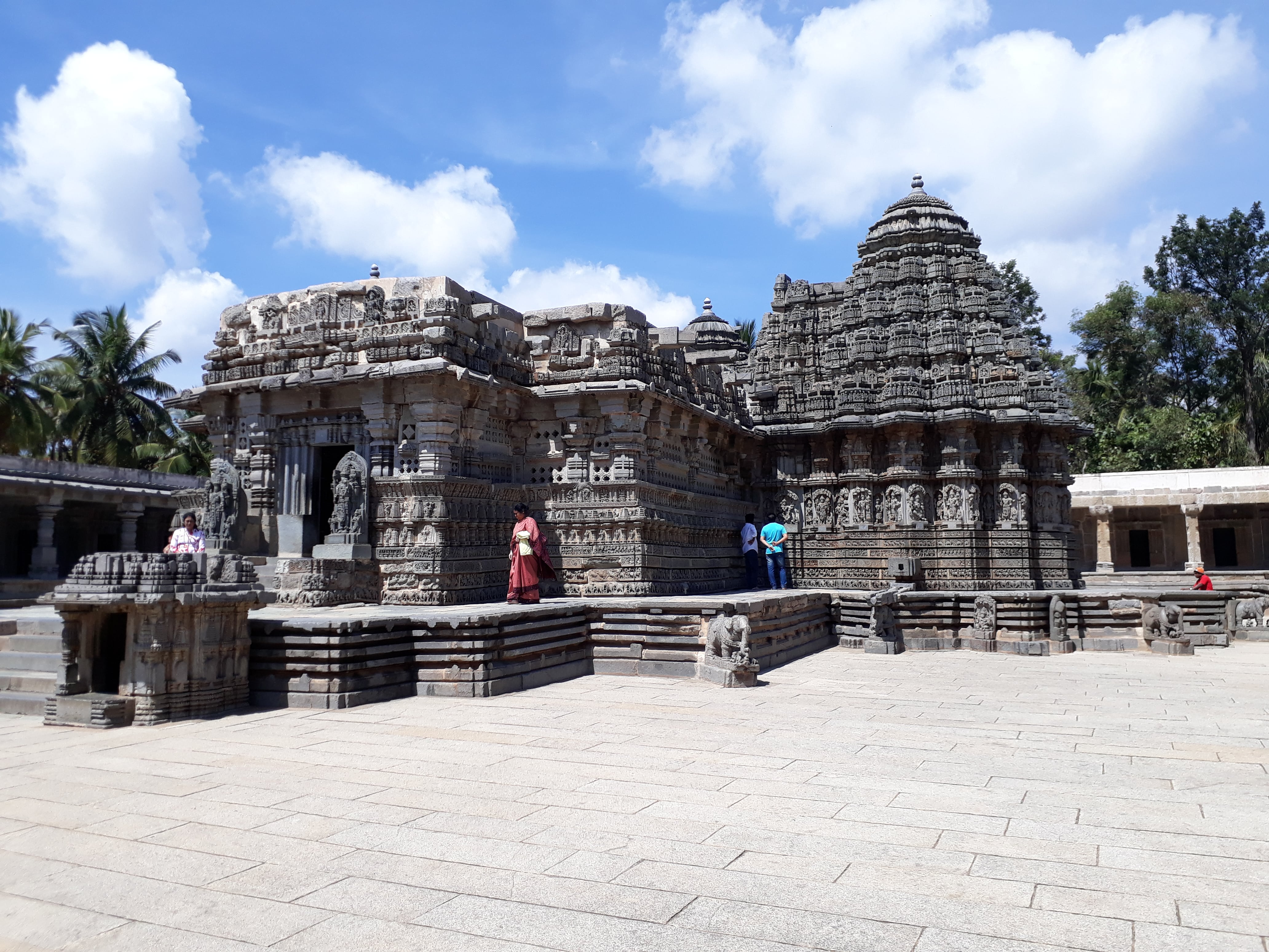 The Chennakesava temple, Somnathpura
