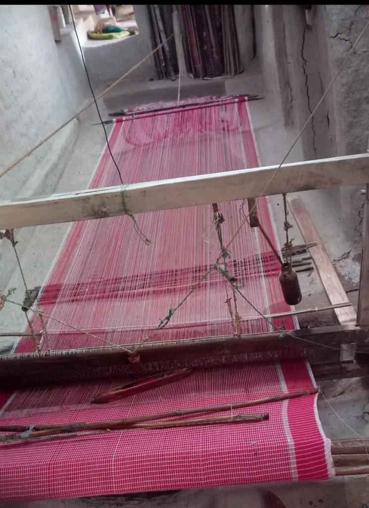 Handloom : Saree making
