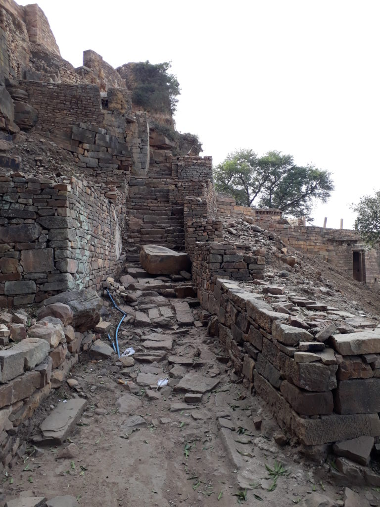 Ruins near the fort walls