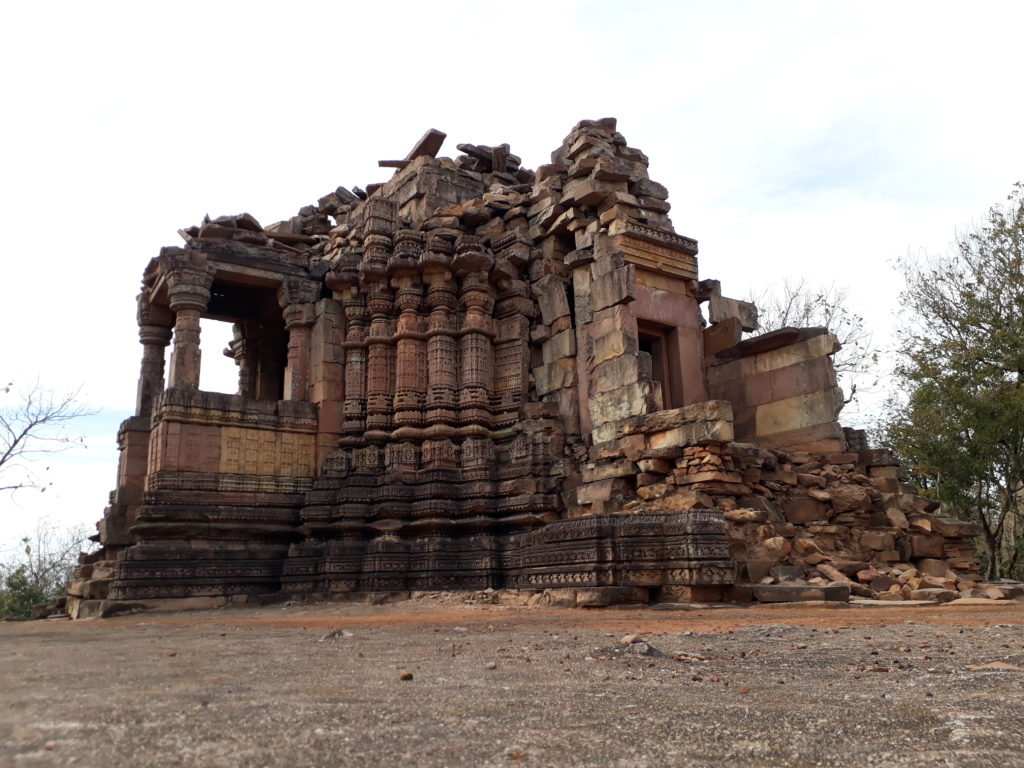 The smaller temple