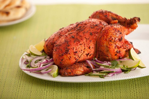 Tandoori Chicken (photo from cookdiary.net)