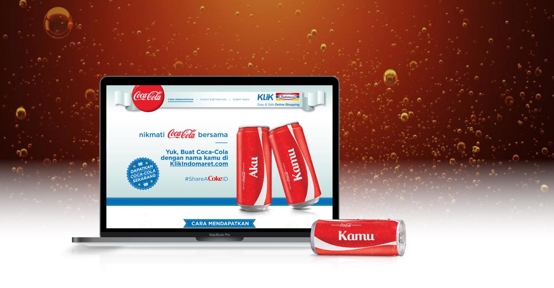 Coca cola Microsite by Grab Essentials