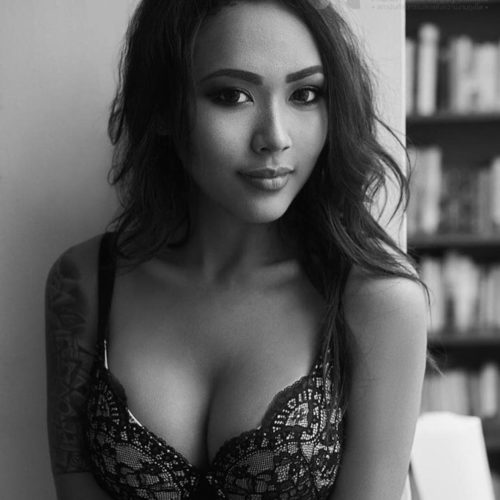 Artistic breast photos