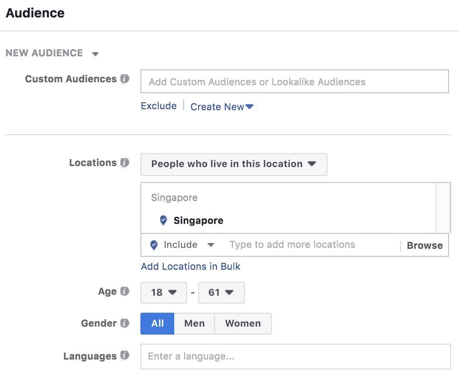 Audience Segment On Facebook