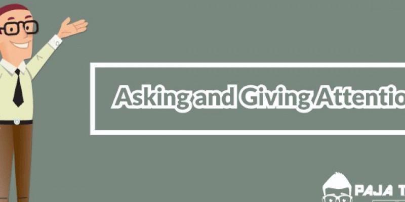 Guru Berbagi Rpp Daring Asking And Giving Attention