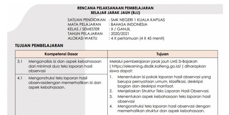 Guru Berbagi Rpp Bahasa Indonesia Smk Kelas X Semester Ganjil