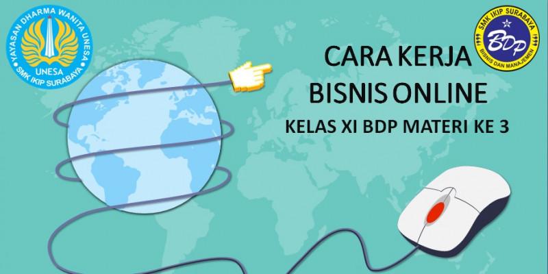 GURU BERBAGI | Cara Kerja Bisnis Online