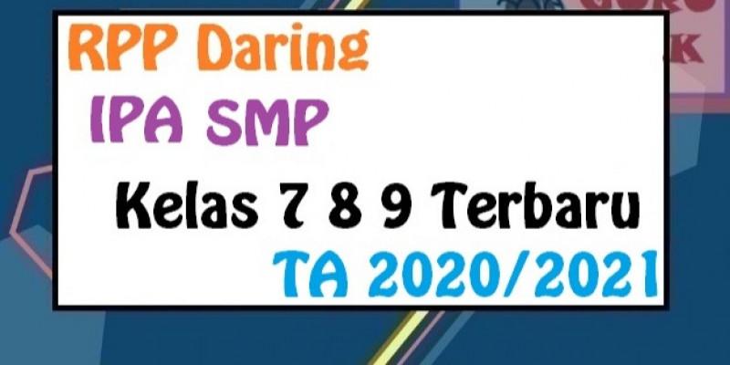 Guru Berbagi Rpp Daring Ipa Smp Terbaru 2020 2021