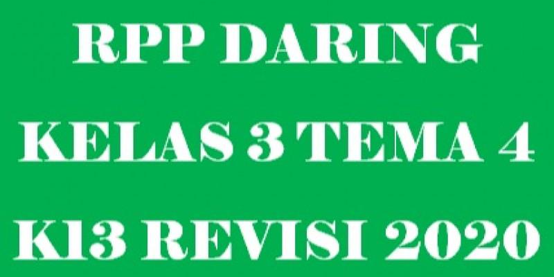 Guru Berbagi Rpp Daring Kelas 3 Tema 4 Subtema 1 4