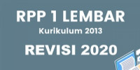 RPP 1 Lembar Revisi 2020 Mapel Bahasa Arab Kelas…