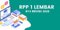 Rpp 1 Lembar Revisi 2020 PAK Dan BP Kelas…