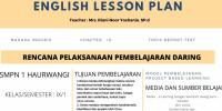 RPP DARING REPORT TEXT KELAS IX SMP