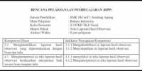 RPP Teks Laporan Hasil Observasi Kelas X