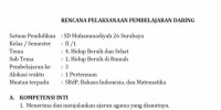 Download RPP DARING KELAS II TEMA 4 ST 1…