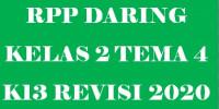 Download RPP Satu Lembar Kelas 2 Tema 4 Lengkap