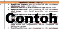 Download RPP DARING MATEMATIKA KELAS 4 REVISI TERBARU