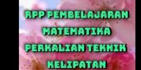 Download PEMBELAJARAN MATEMATIKA TEKNIK KELIPATAN
