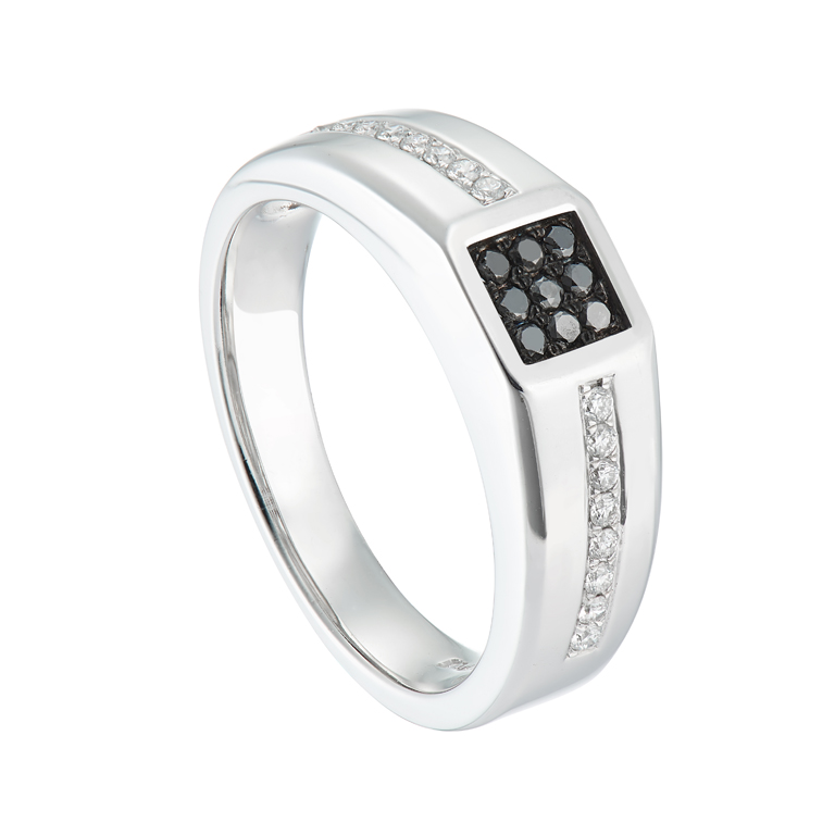 img jewellery band the jewelry five white gold leo in s men ct ring rings diamond solid mens