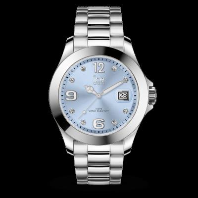 classic - Light blue Silver - Stones