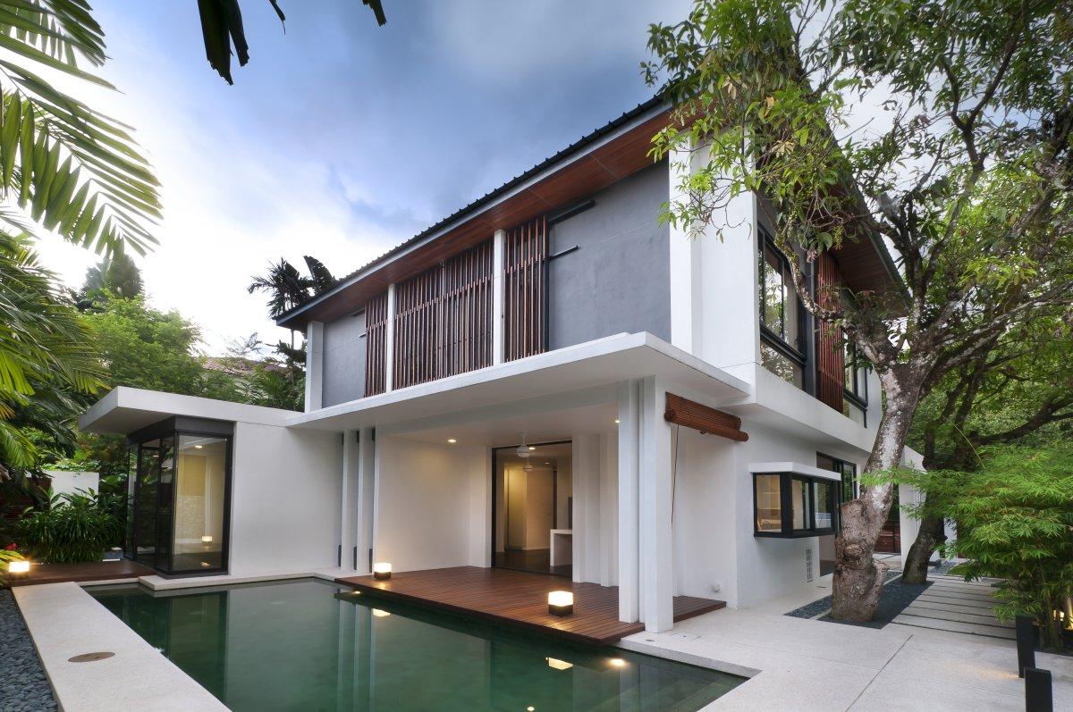 Bungalow house design malaysia House design