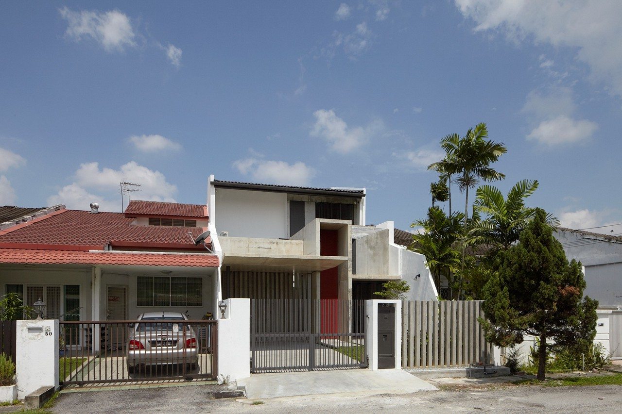 Home Reminisce of Peranakan Houses by Fabian Tan Architect