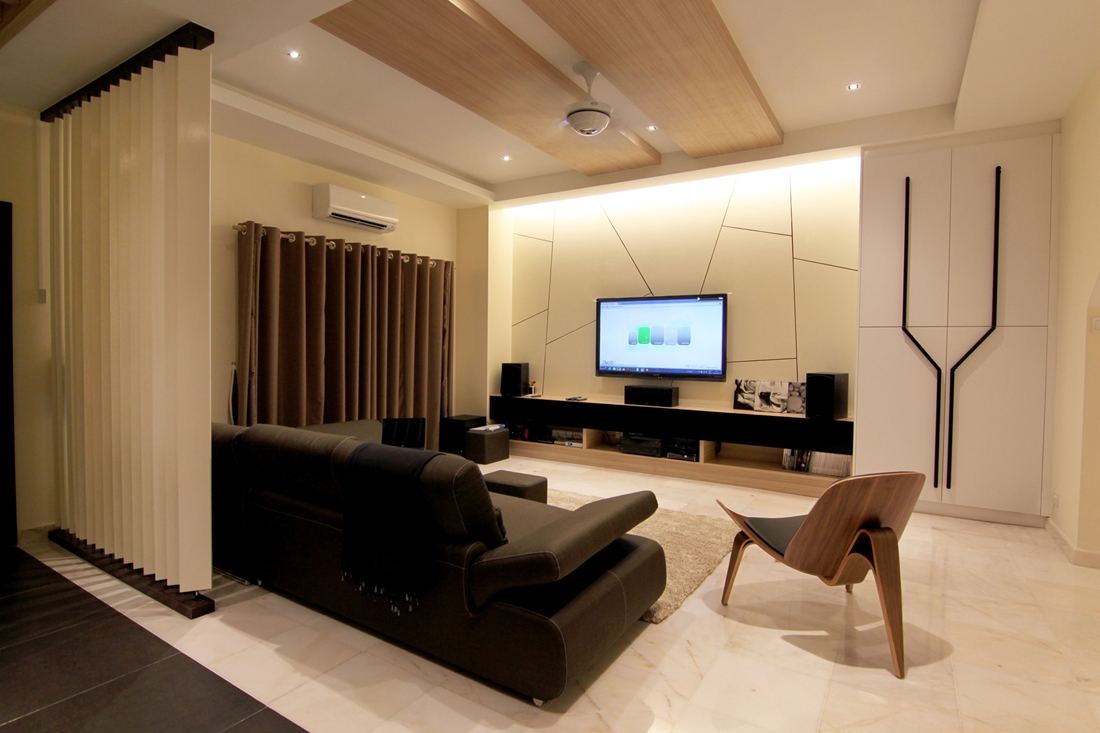 Aman suria terrace by nu infinity for Modern living room malaysia