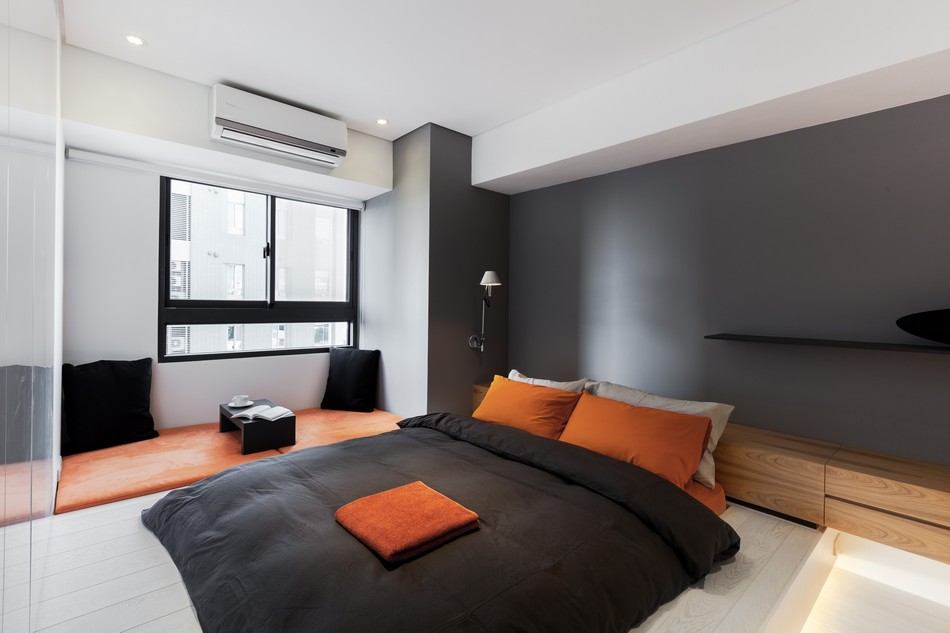 Black And Orange Bedroom gray orange bedroom || vesmaeducation