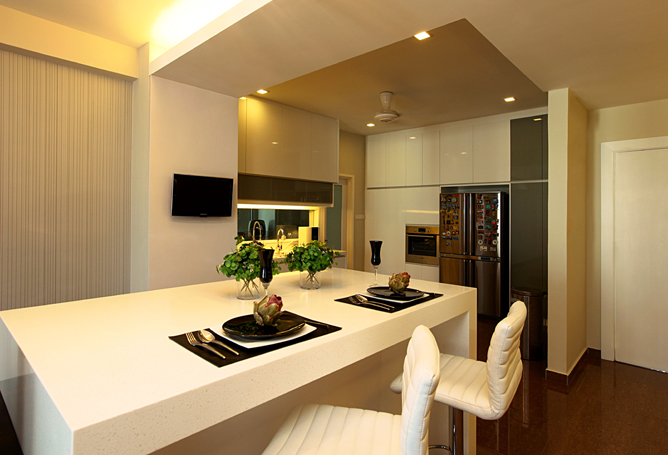 Contemporary prima heights condo by turn design interior for Modern home decor malaysia