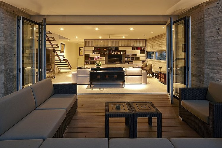 Y house by ong ong Interior design idea for semi d house