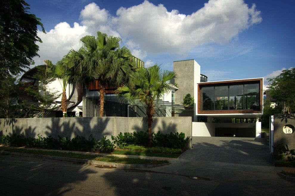 Take a look at this photo design veranda photo - Modern Home Drawing Inspiration From Sarawakian Longhouses