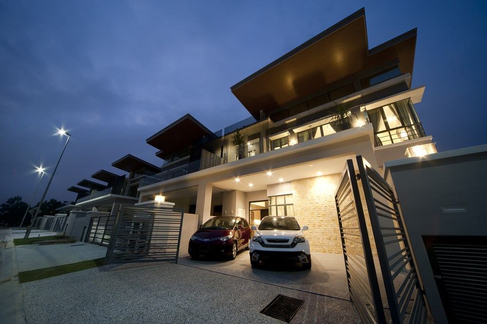 Ampang Saujana Home Given A Touch Of Modern Elegance By