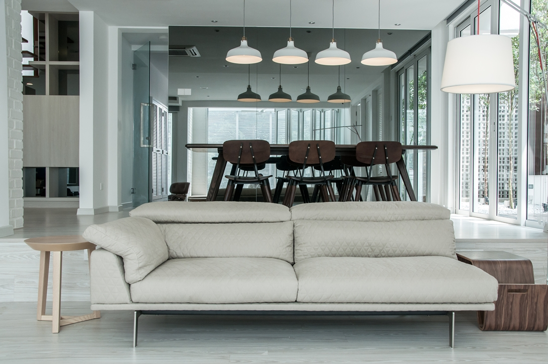White Haven home in Bangsar by ore Design Workshop - ^