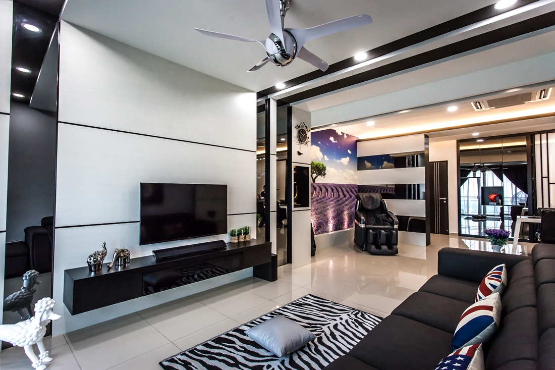 Modern Condominium Interior Design In Penang By Zeng Space