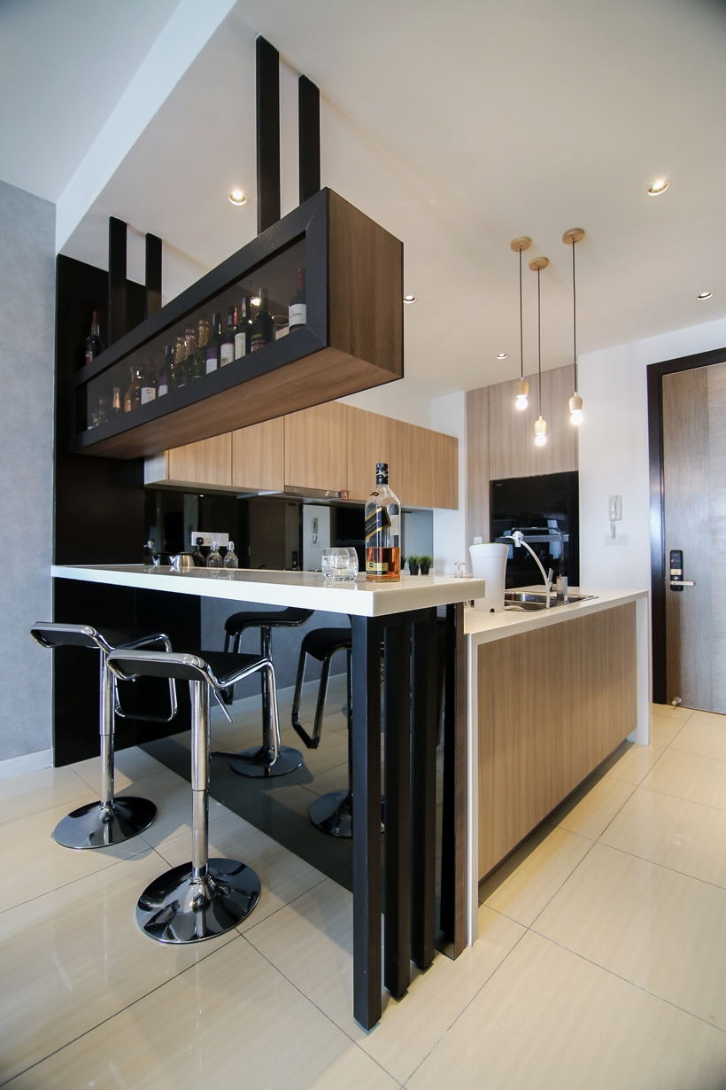 Sleek Urban Elements Condo Interior Design By Nu Infinity