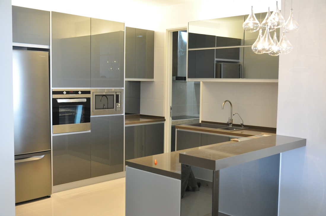 Stylish And Versatile Aluminium Kitchens By Belkitchen