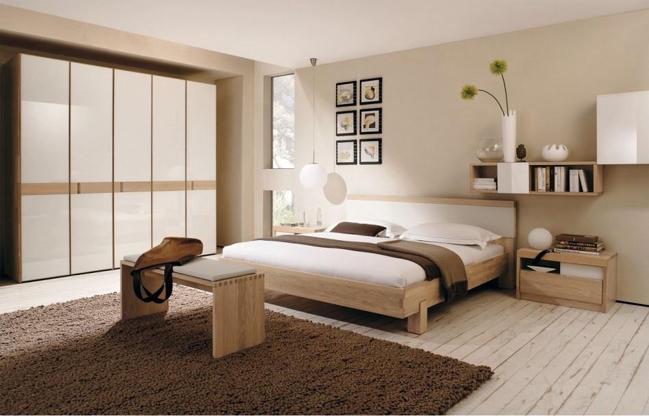 Modern Zen Bedroom Interior Design Rendering