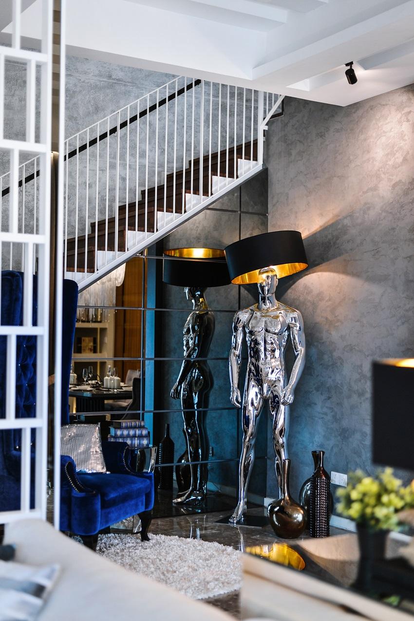 Avant garde cheras idaman home designed by x two concept for Avant garde interiors